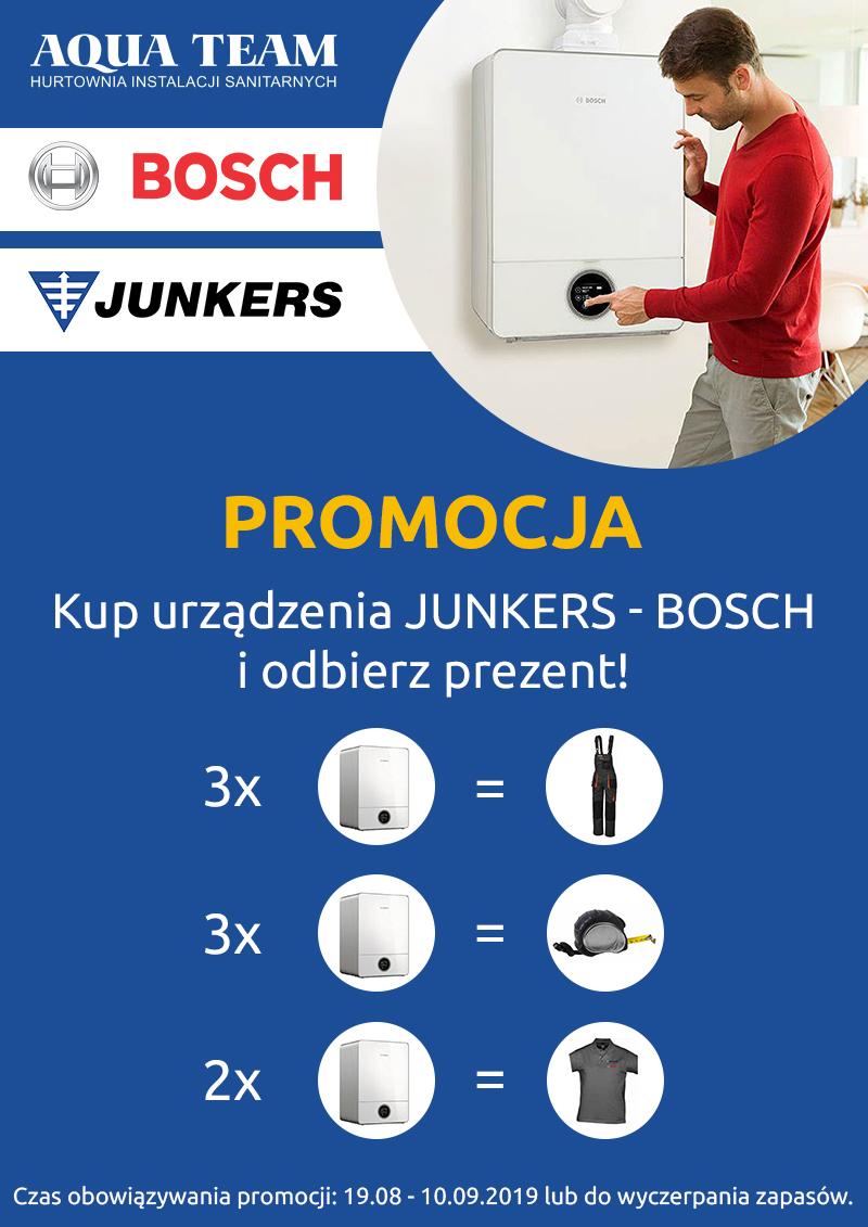 PROMOCJA Junkers – Bosch! odbierz prezent