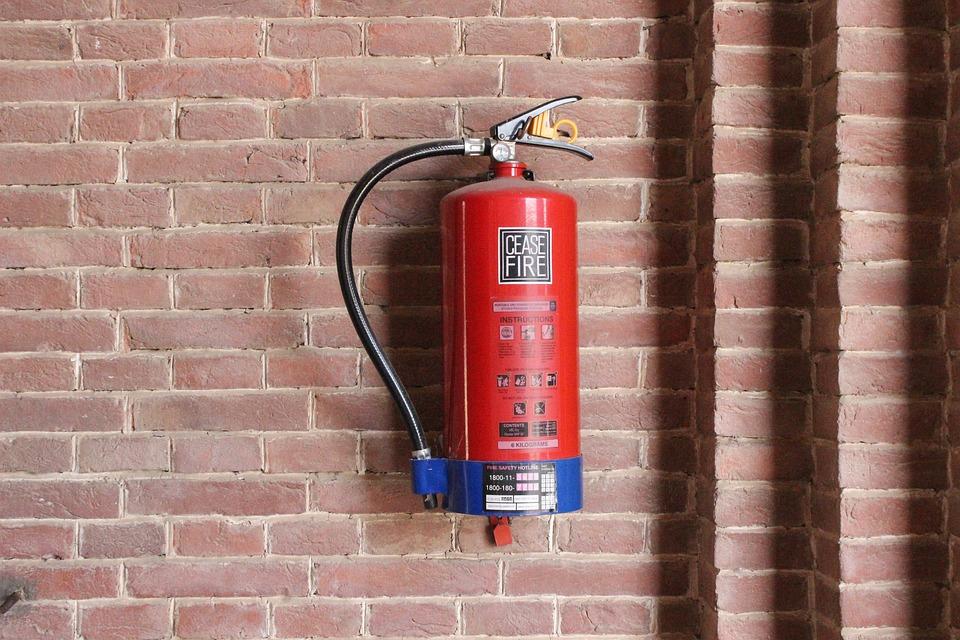 ochrona przeciwpożarowa budynku